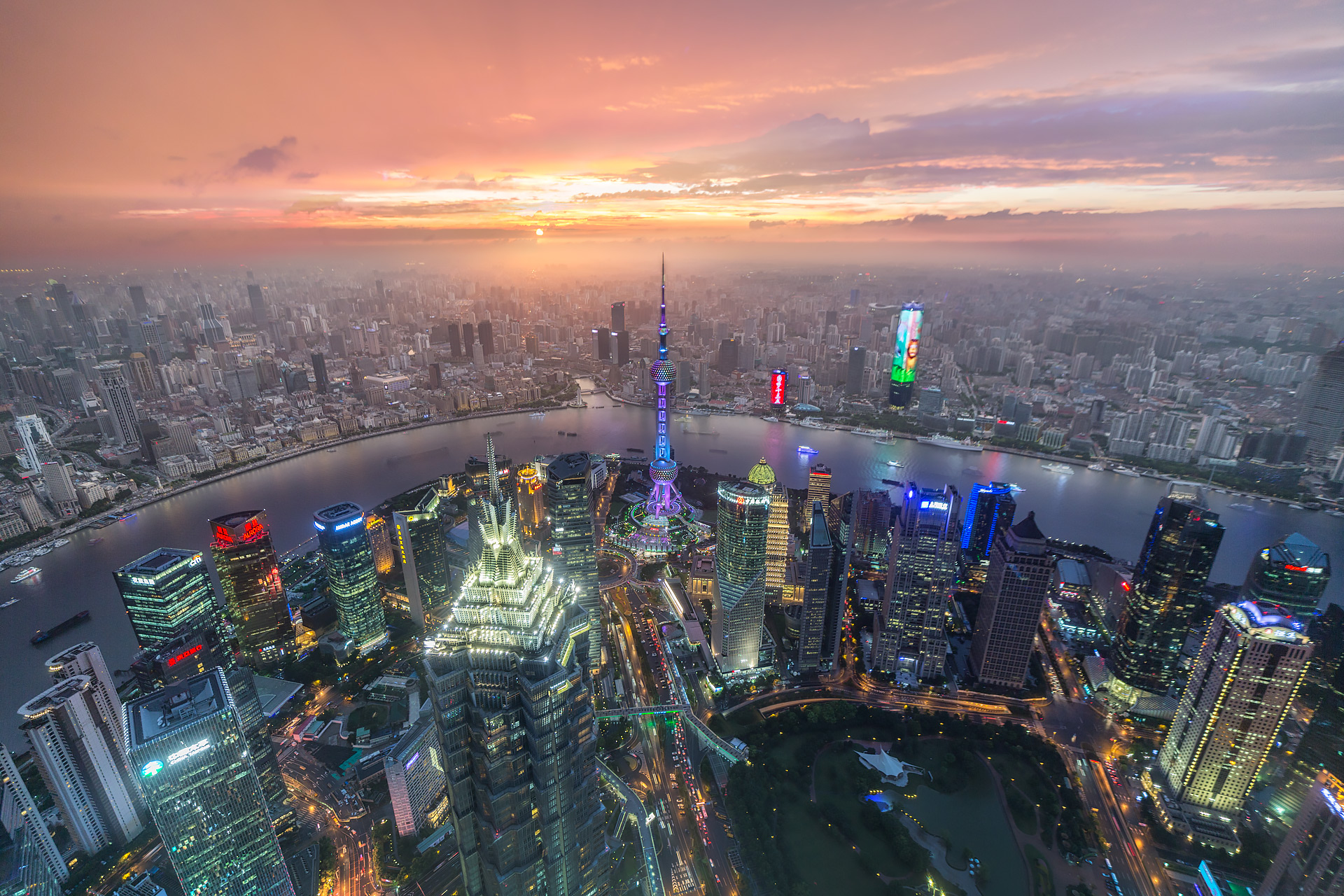 shanghai day to night