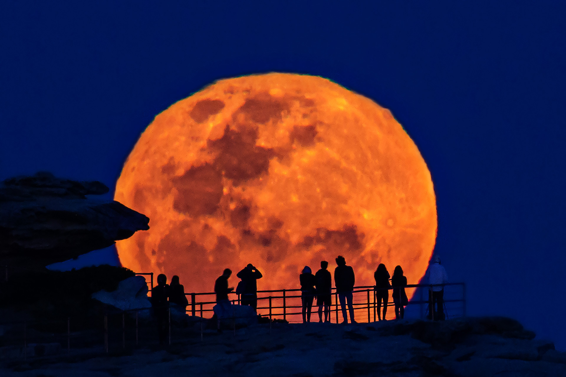 Super Moon Bondi Beach