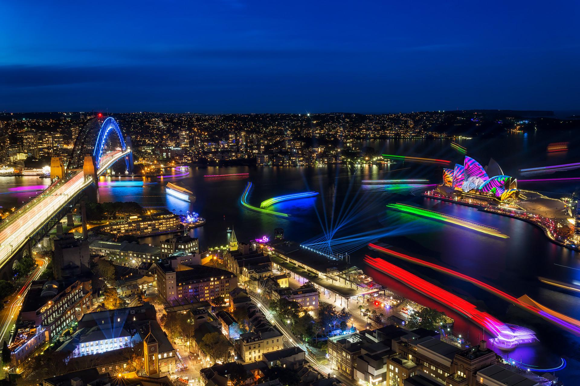 sydney vivid lights