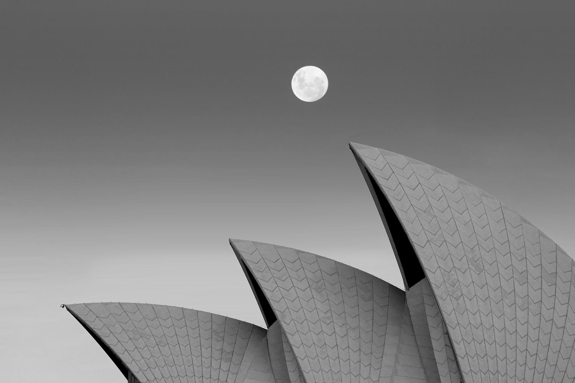 Moon Opera house sydney
