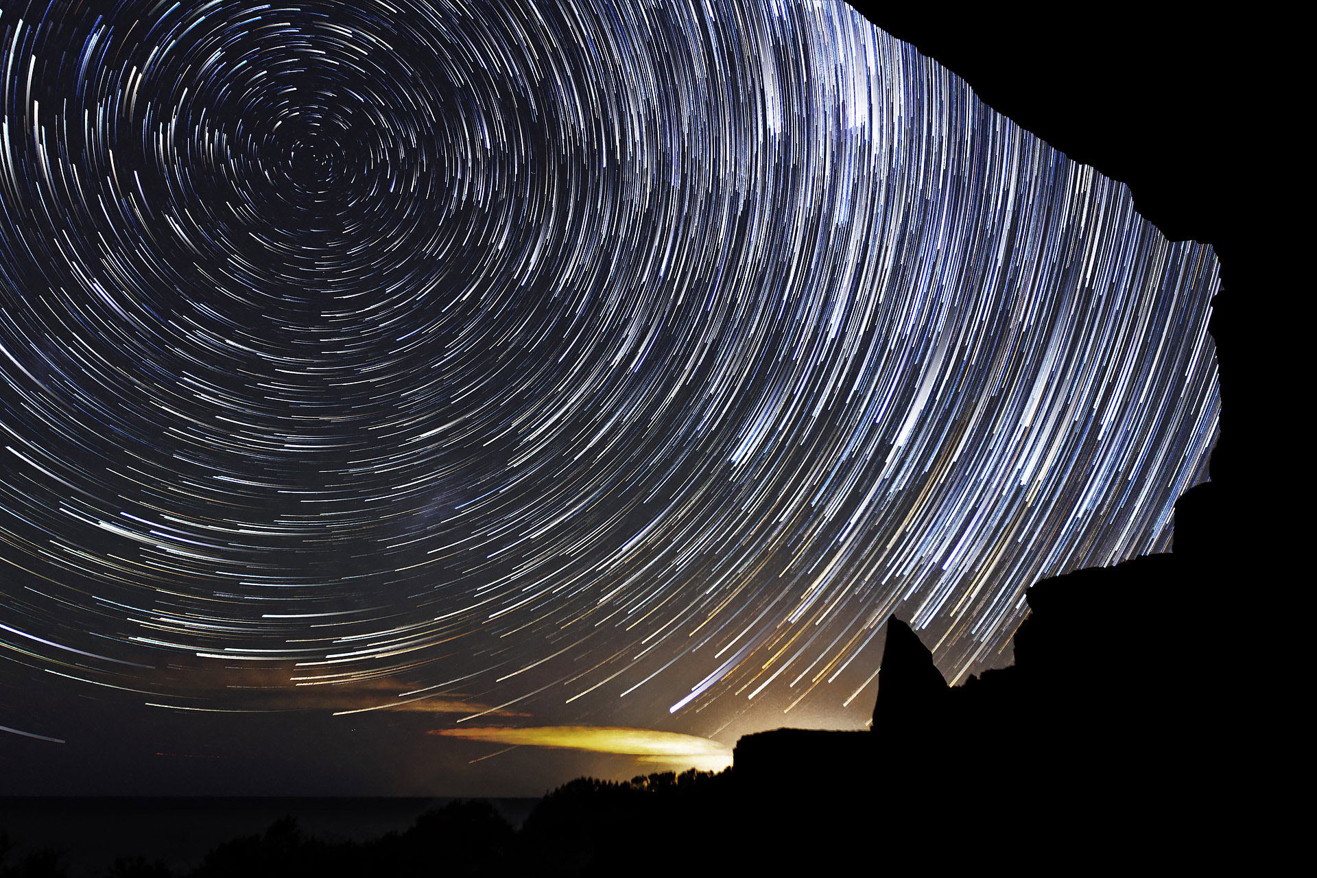 Nocturnes startrails royal national park