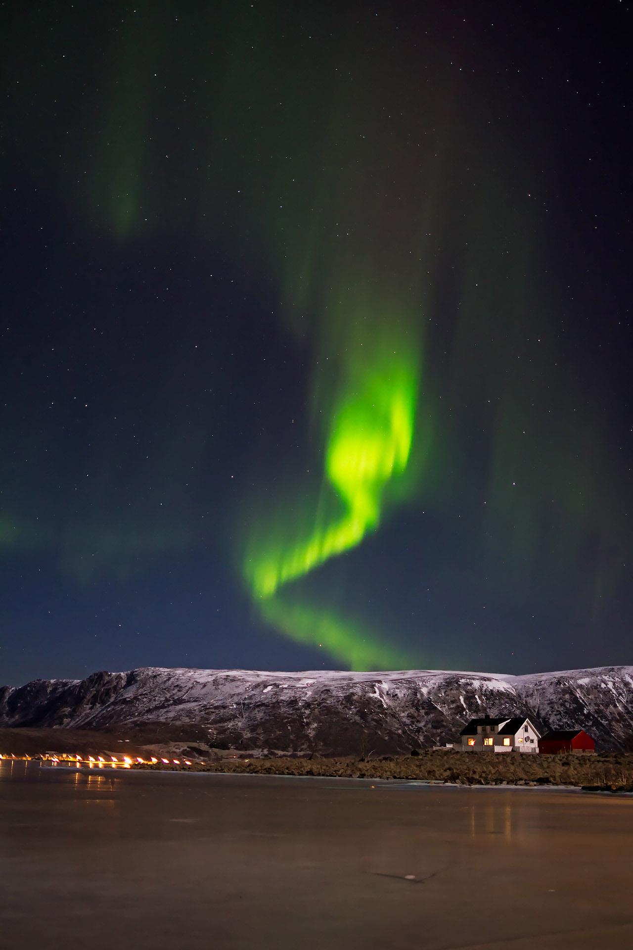 Nocturnes aurora lofoten